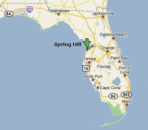 Spring Hill Florida Map.Spring Hill Junk Removal U Fill Or We Fill